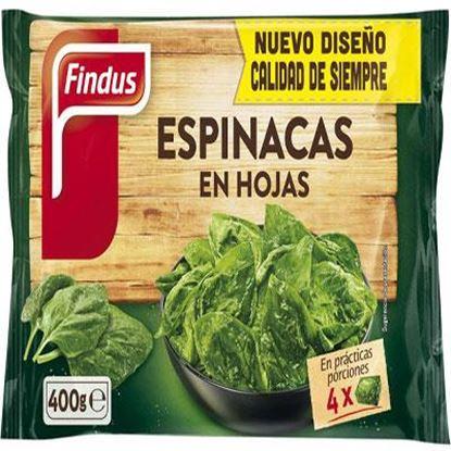 Foto de Espinacas Hoja Findus