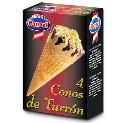 Foto de Conos Turrón Pack 4 und.